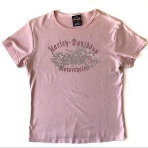 Harley Davidson Pink T-Shirt